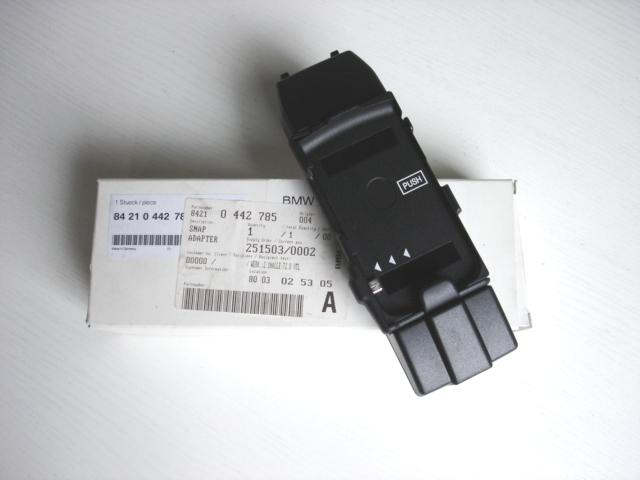 Snap-In adapter Basic BMW Motorola V9 - 84210442785 | ABV